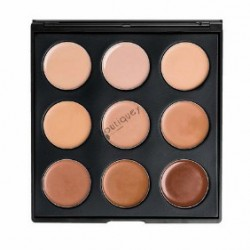 Morphe 9 Colors Cream Contour Palette ( 9FC )