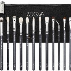Zoeva 12 Eye Brush Set + Clutch